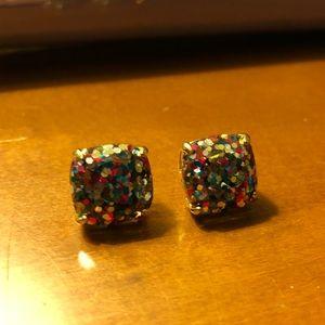 Kate Spade Multi Glitter Studs